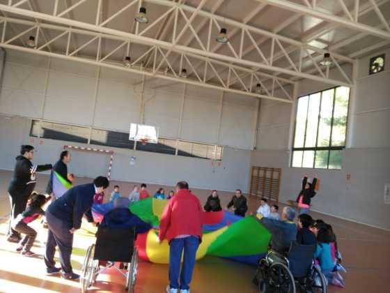 Jornada de Convivencia, visita al Colegio Carrasco Alcalde 5