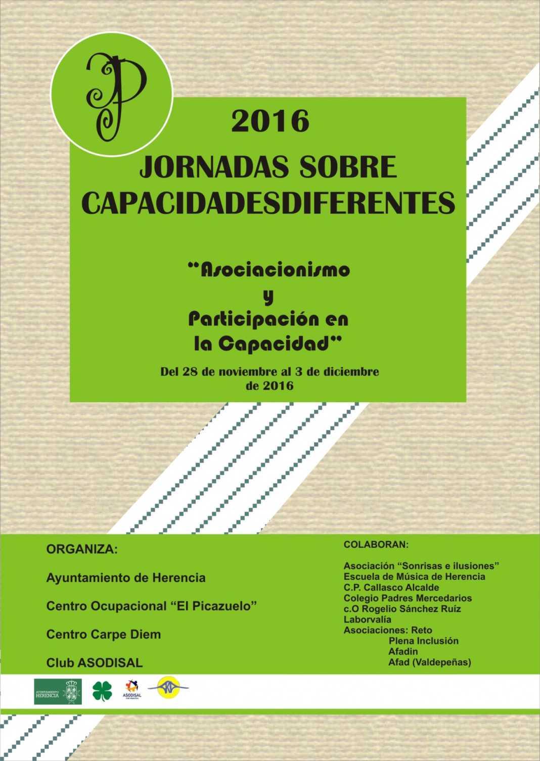Jornadas sobre capacidades diferentes 2016 en Herencia 6