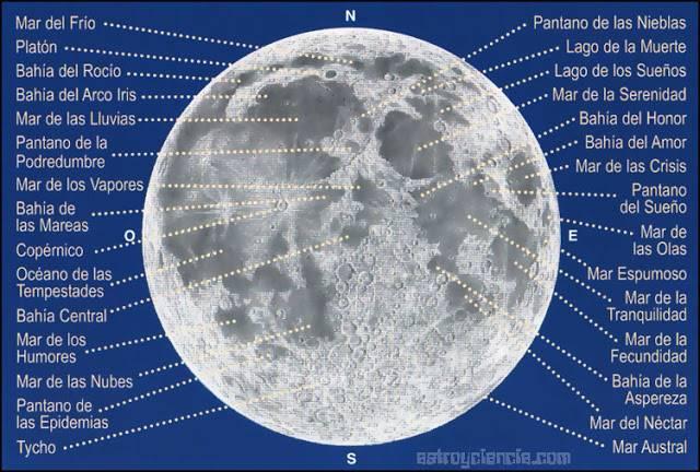 mapa de la luna - Gran quedada para ver la superluna en el Hermógenes Rodríguez