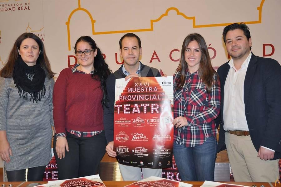 Presentada la XXVI Muestra de Teatro de la Diputación de Ciudad Real 1