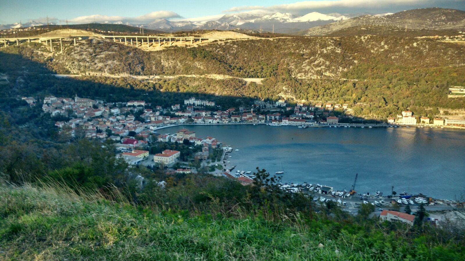 perle por el mundo6 - Elías Escribano llega al mar Adriático. Etapas 76-82 de Perlé por el Mundo