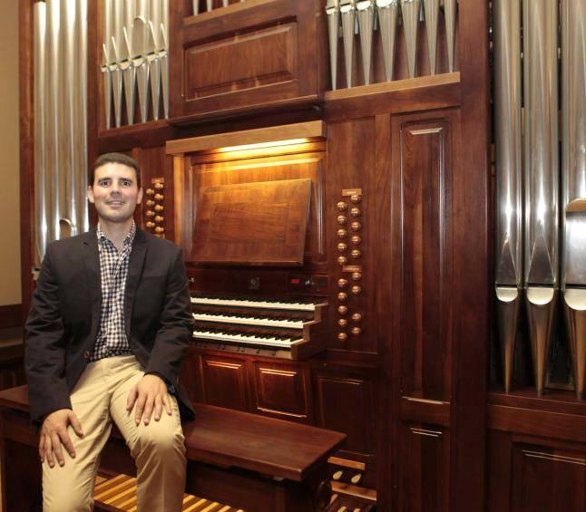 ruben diez garcia - Concierto aniversario del órgano barroco de la parroquia de Herencia