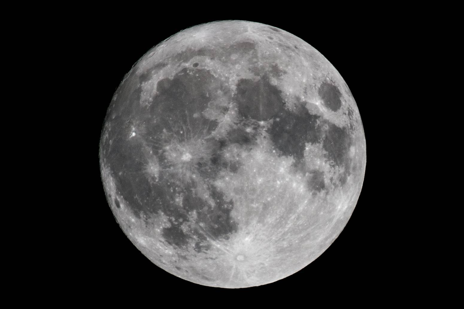 superluna foto de la NASA - Gran quedada para ver la superluna en el Hermógenes Rodríguez