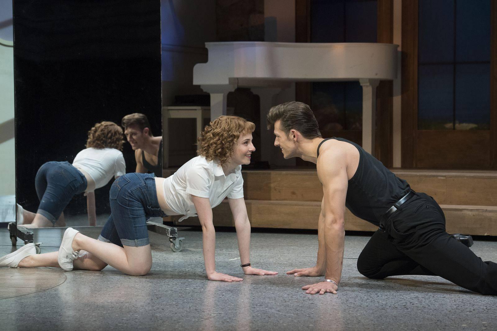 Obra de teatro Dirty Dancing. Fotografía de la web oficial de la obra.