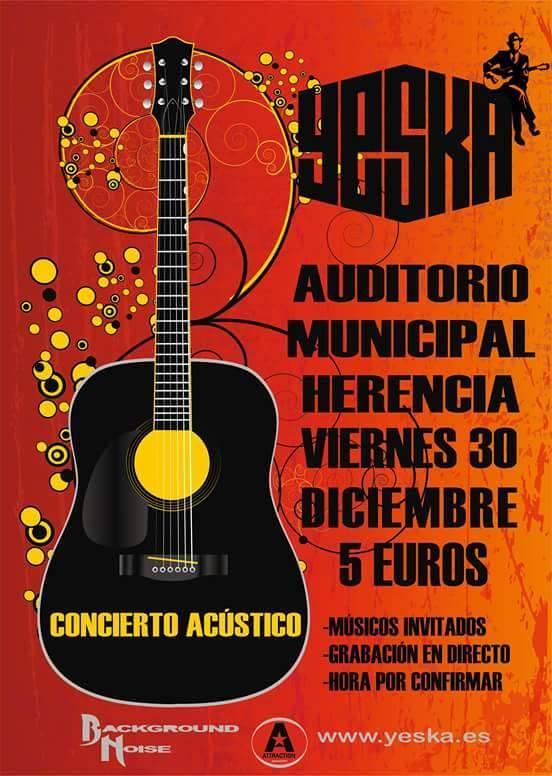 Yeska, concierto navidad auditorio de Herencia