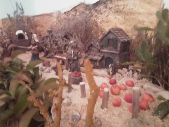 Belen Jesus Gomez Calcerrada12 560x420 - Galería de imágenes de la II Muestra de belenes de Herencia