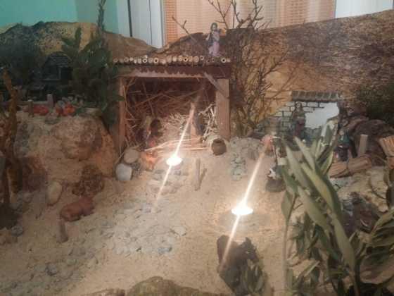 Belen Jesus Gomez Calcerrada21 560x420 - Galería de imágenes de la II Muestra de belenes de Herencia