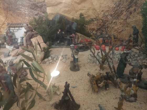 Belen Jesus Gomez Calcerrada22 560x420 - Galería de imágenes de la II Muestra de belenes de Herencia