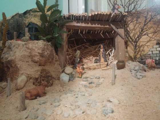 Belen Jesus Gomez Calcerrada6 560x420 - Galería de imágenes de la II Muestra de belenes de Herencia