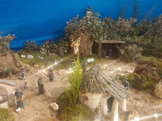 Belen Juan Sanchez Aguilera13 560x420 - Galería de imágenes de la II Muestra de belenes de Herencia