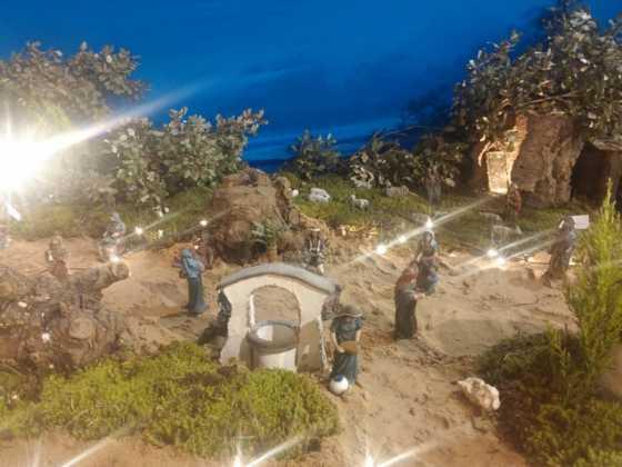Belen Juan Sanchez Aguilera14 560x420 - Galería de imágenes de la II Muestra de belenes de Herencia
