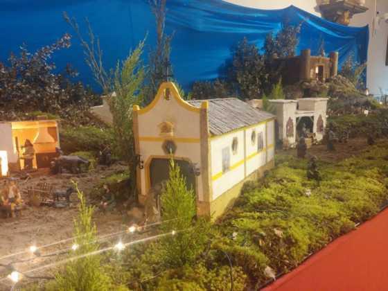 Belen Juan Sanchez Aguilera16 560x420 - Galería de imágenes de la II Muestra de belenes de Herencia