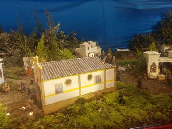 Belen Juan Sanchez Aguilera17 560x420 - Galería de imágenes de la II Muestra de belenes de Herencia