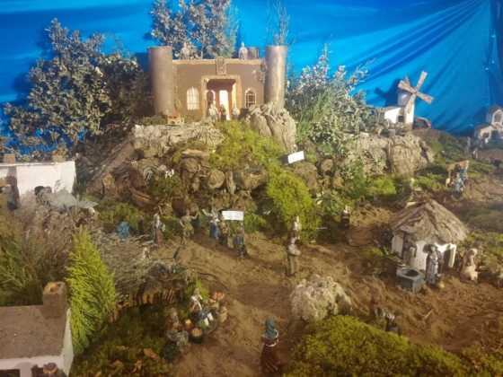 Belen Juan Sanchez Aguilera22 560x420 - Galería de imágenes de la II Muestra de belenes de Herencia
