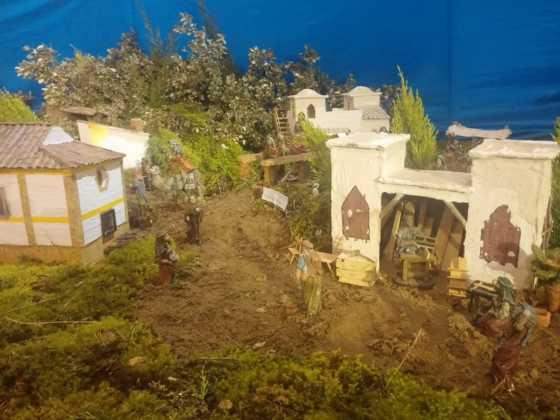 Belen Juan Sanchez Aguilera24 560x420 - Galería de imágenes de la II Muestra de belenes de Herencia