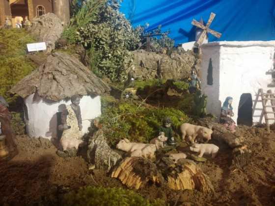 Belen Juan Sanchez Aguilera3 560x420 - Galería de imágenes de la II Muestra de belenes de Herencia