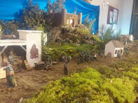Belen Juan Sanchez Aguilera7 560x420 - Galería de imágenes de la II Muestra de belenes de Herencia