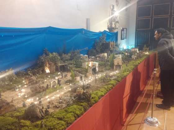 Belen Juan Sanchez Aguilera9 560x420 - Galería de imágenes de la II Muestra de belenes de Herencia