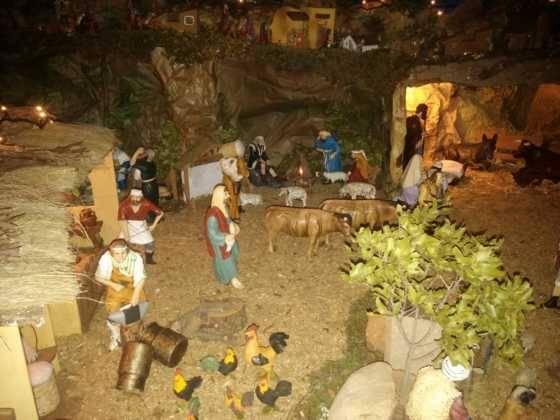 Belen de Ascension Diaz Raseron 2 560x420 - Galería de imágenes de la II Muestra de belenes de Herencia
