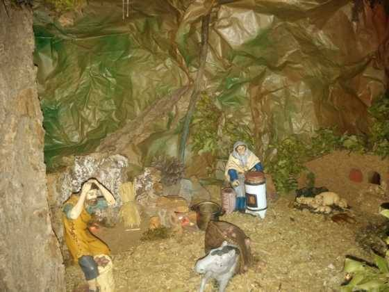Belen de Ascension Diaz Raseron 3 560x420 - Galería de imágenes de la II Muestra de belenes de Herencia