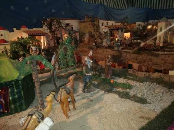 Belen de Chamusca10 560x420 - Galería de imágenes de la II Muestra de belenes de Herencia