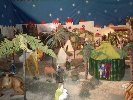 Belen de Chamusca11 560x420 - Galería de imágenes de la II Muestra de belenes de Herencia