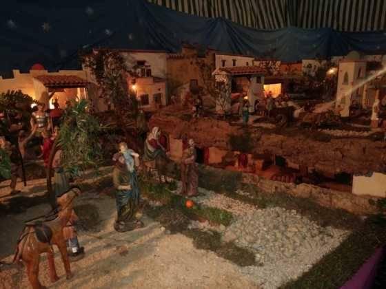 Belen de Chamusca12 560x420 - Galería de imágenes de la II Muestra de belenes de Herencia
