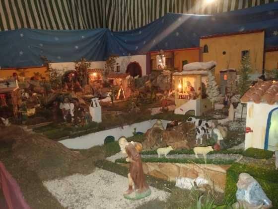 Belen de Chamusca17 560x420 - Galería de imágenes de la II Muestra de belenes de Herencia