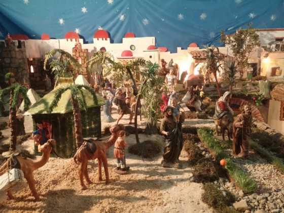 Belen de Chamusca2 560x420 - Galería de imágenes de la II Muestra de belenes de Herencia