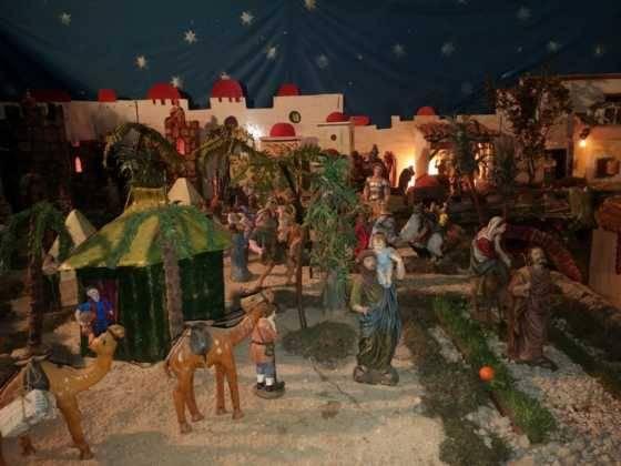 Belen de Chamusca3 560x420 - Galería de imágenes de la II Muestra de belenes de Herencia