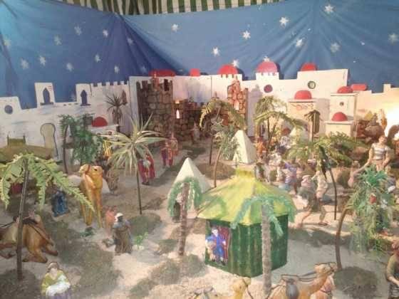 Belen de Chamusca5 560x420 - Galería de imágenes de la II Muestra de belenes de Herencia