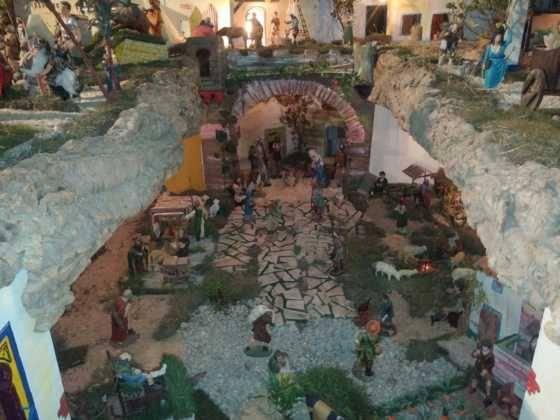 Belen de Chamusca6 560x420 - Galería de imágenes de la II Muestra de belenes de Herencia