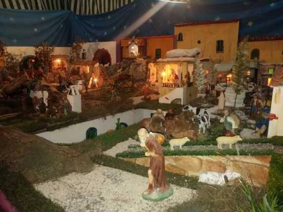 Belen de Chamusca9 560x420 - Galería de imágenes de la II Muestra de belenes de Herencia