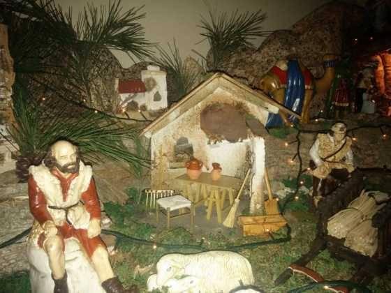 Belen de Gema Gallego de la Sacristanan3 560x420 - Galería de imágenes de la II Muestra de belenes de Herencia