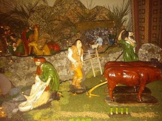 Belen de Gema Gallego de la Sacristanan4 560x420 - Galería de imágenes de la II Muestra de belenes de Herencia