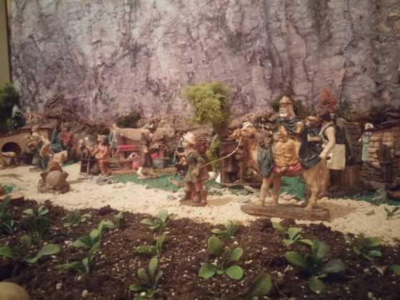 Belen de Inmaculada Martin7 560x420 - Galería de imágenes de la II Muestra de belenes de Herencia