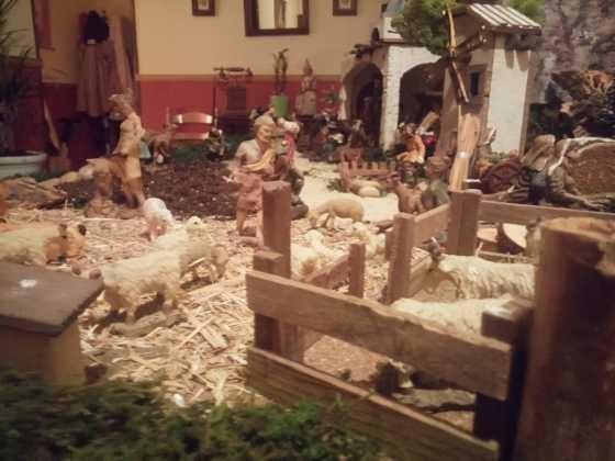 Belen de Inmaculada Martin9 560x420 - Galería de imágenes de la II Muestra de belenes de Herencia
