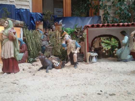 Belen de Josefa en el ayuntamiento20 560x420 - Galería de imágenes de la II Muestra de belenes de Herencia