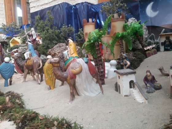 Belen de Josefa en el ayuntamiento21 560x420 - Galería de imágenes de la II Muestra de belenes de Herencia