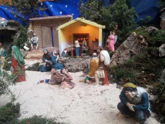 Belen de Josefa en el ayuntamiento24 560x420 - Galería de imágenes de la II Muestra de belenes de Herencia