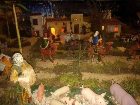 Belen de la Encarnacion11 560x420 - Galería de imágenes de la II Muestra de belenes de Herencia