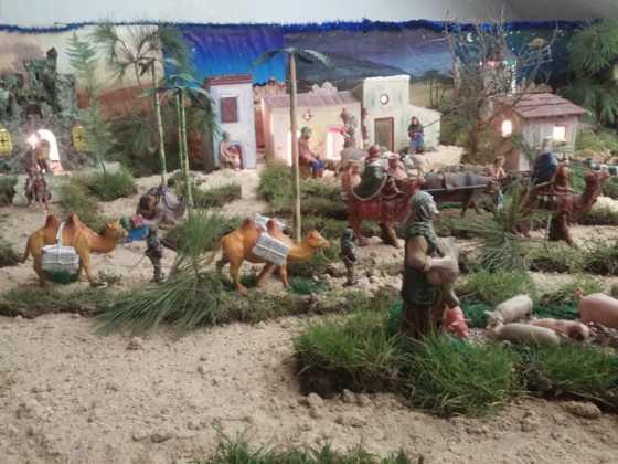 Belen de la Encarnacion6 560x420 - Galería de imágenes de la II Muestra de belenes de Herencia
