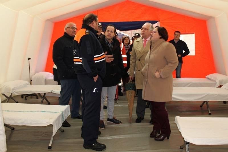 Carmen Olmedo Proteccion Civil comarca de La Mancha 2 - La Junta entrega en Herencia material de asistencia a siete agrupaciones de Protección Civil