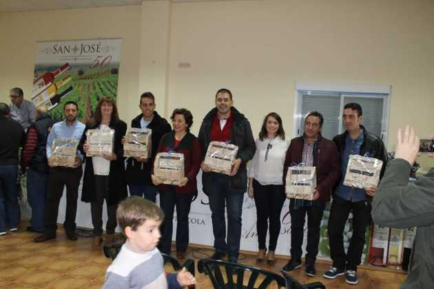 IV concurso de vinos mistelas arropes en Herencia 11 630x420 - Entrega de Premios en el IV Concurso de vinos, mistelas y arropes tradicionales