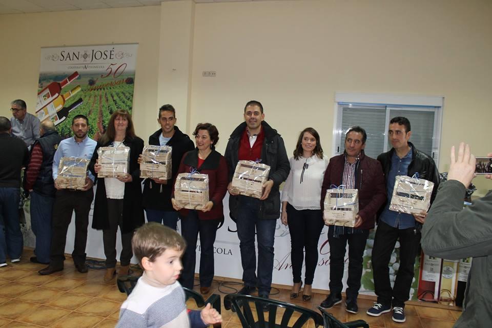 IV concurso de vinos mistelas arropes en Herencia 11 - Entrega de Premios en el IV Concurso de vinos, mistelas y arropes tradicionales