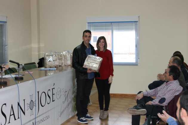 Entrega de Premios en el IV Concurso de vinos, mistelas y arropes tradicionales 2
