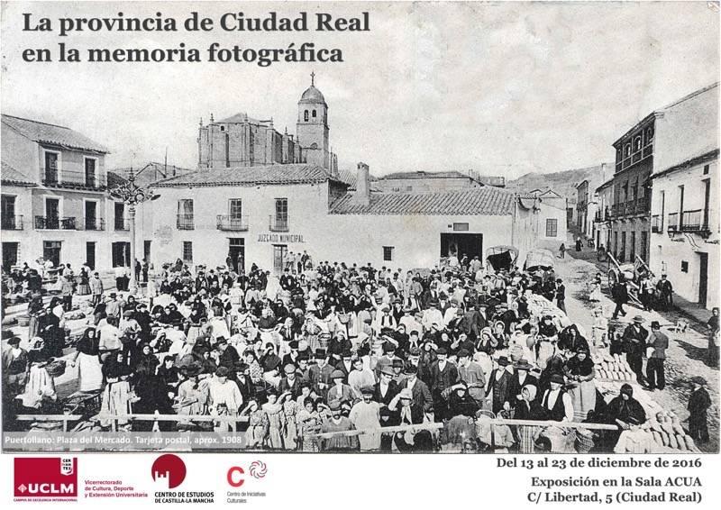 """La provincia de Ciudad Real en la memoria fotografica - Imágenes de Herencia en la exposición """"La provincia de Ciudad Real en la memoria fotográfica"""""""