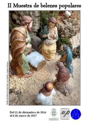 Segunda muestra de belenes populares de Herencia 300x420 - Galería de imágenes de la II Muestra de belenes de Herencia