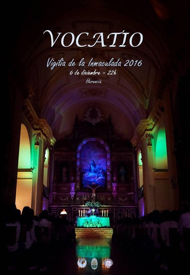 Vigilia Inmaculada Concepcion de Herencia 2016 - Celebración de la Vigilia de la Inmaculada 2016