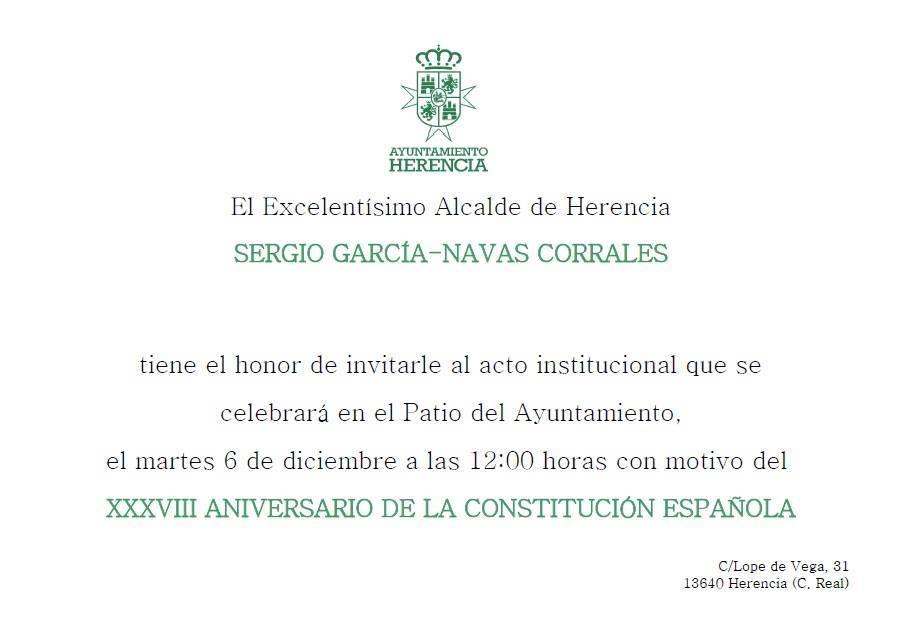 acto dia constitucion 2016 en herencia 2 - Celebrado el Día de la Constitución de Herencia